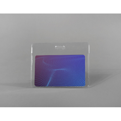Soft RFID card holder (horizontal)