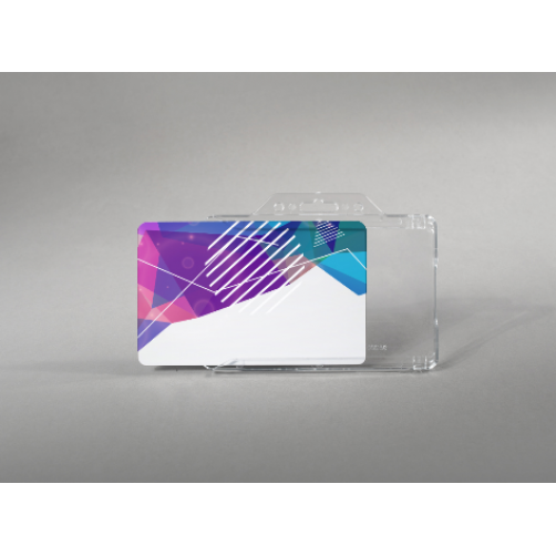 Premium light card holder (horizontal)